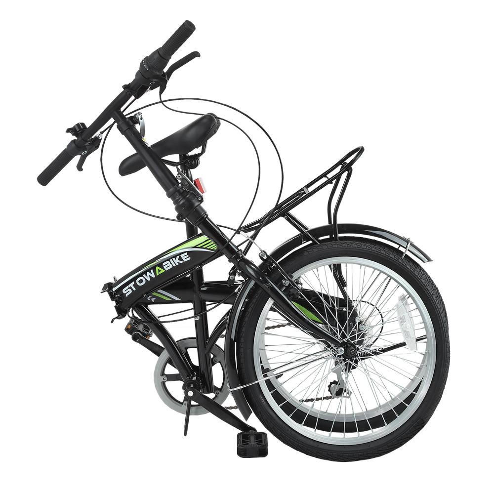 """Stowabike 20/"""" Folding City V3 Compact Foldable Bike 6 Speed Shimano Gears"""