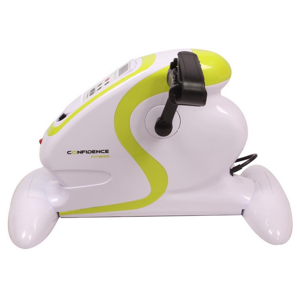 Confidence Fitness Motorized Electric Mini Exercise Bike Pedal Exerciser