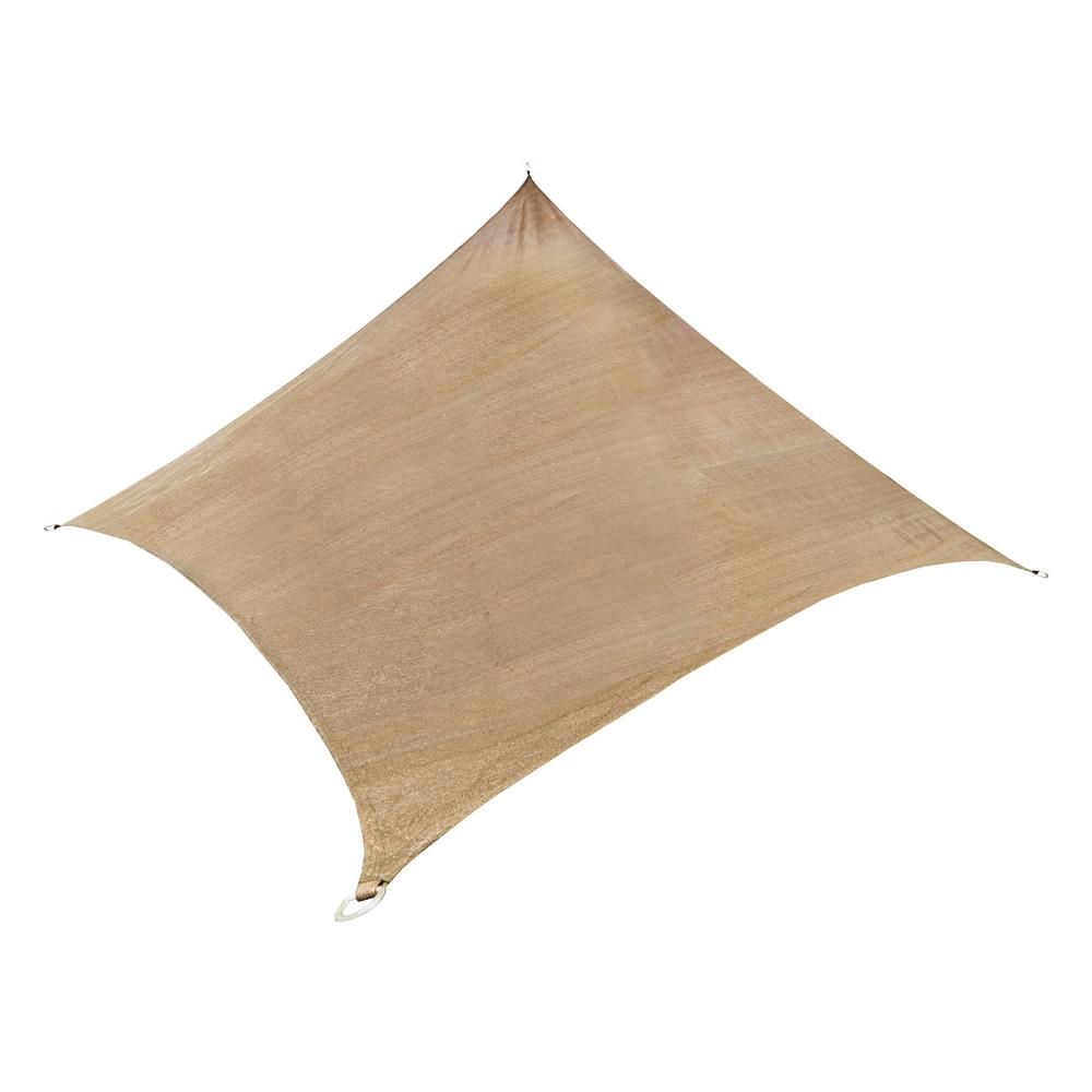 Palm springs rectangular sail shade sun garden - Toldo vela rectangular ...