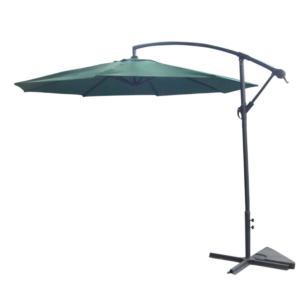 palm springs 10ft offset garden umbrella outdoor patio