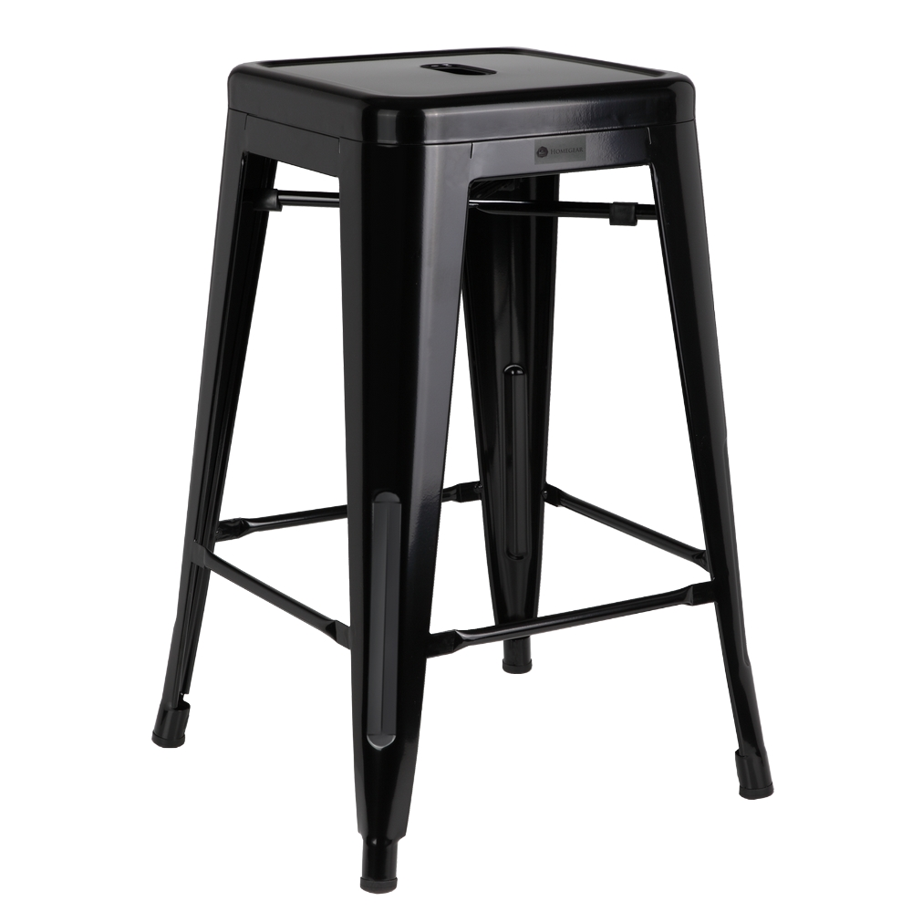 Homegear 4 Pack Stackable Metal Kitchen Stools Chairs Ebay