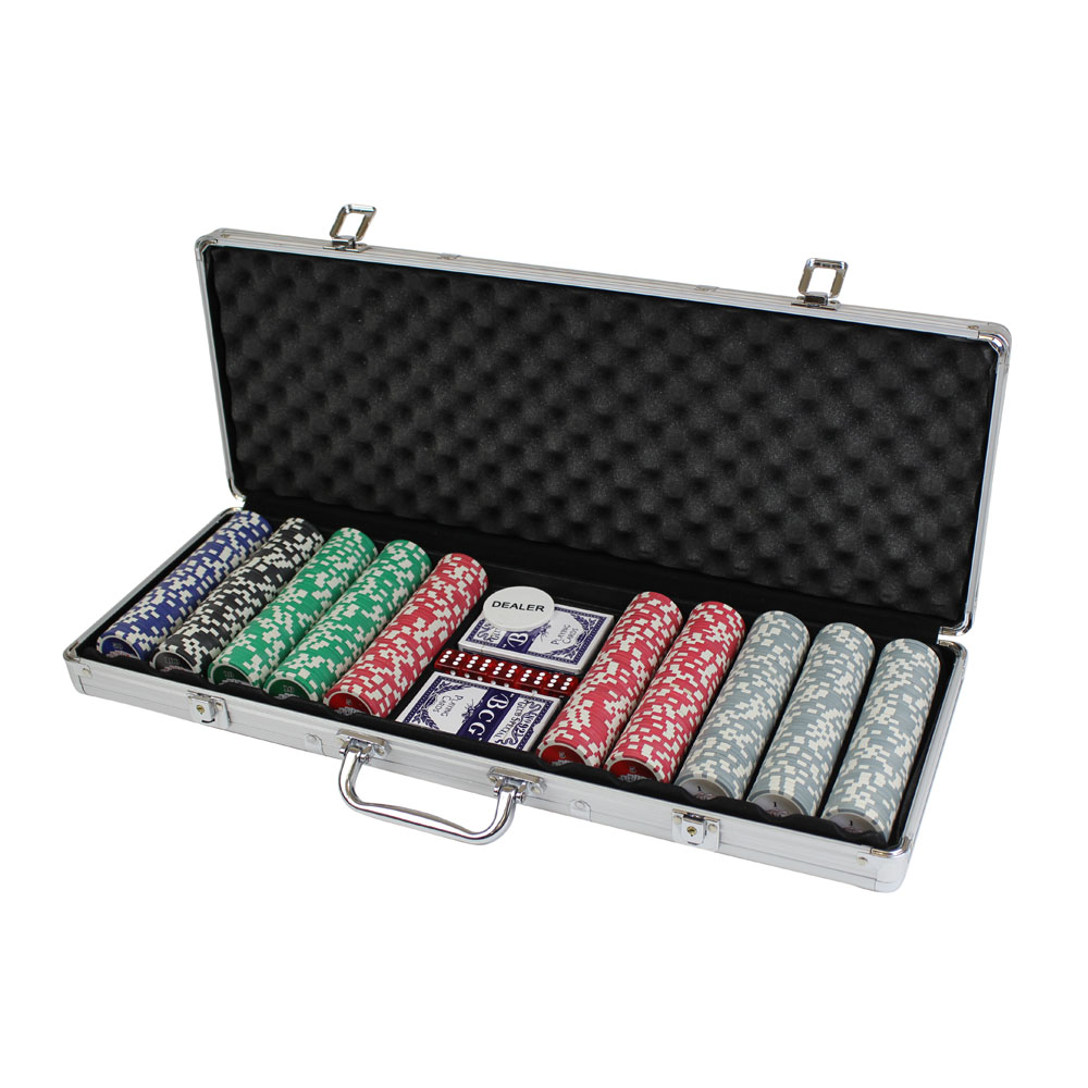 cq 500 casino poker chips set