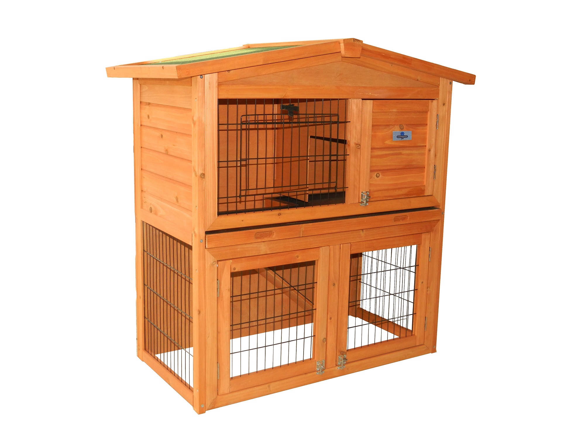 Confidence pet 40 rabbit hutch bunny guinea pig cage pen for What is a rabbit hutch