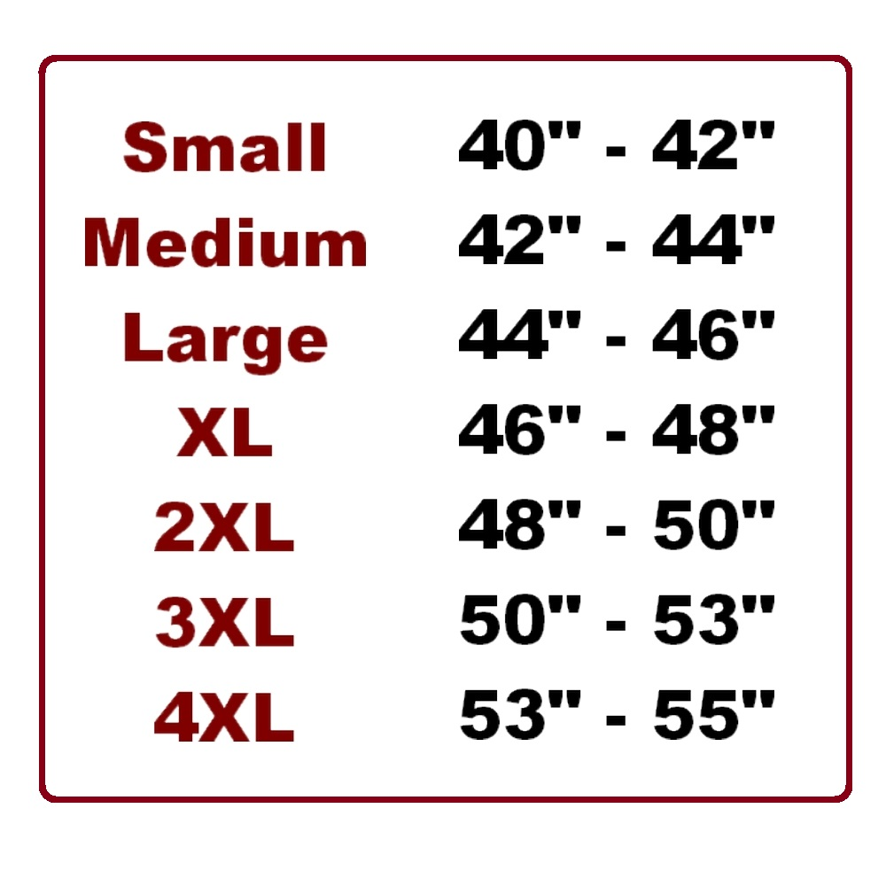 Woodworm Size Guide