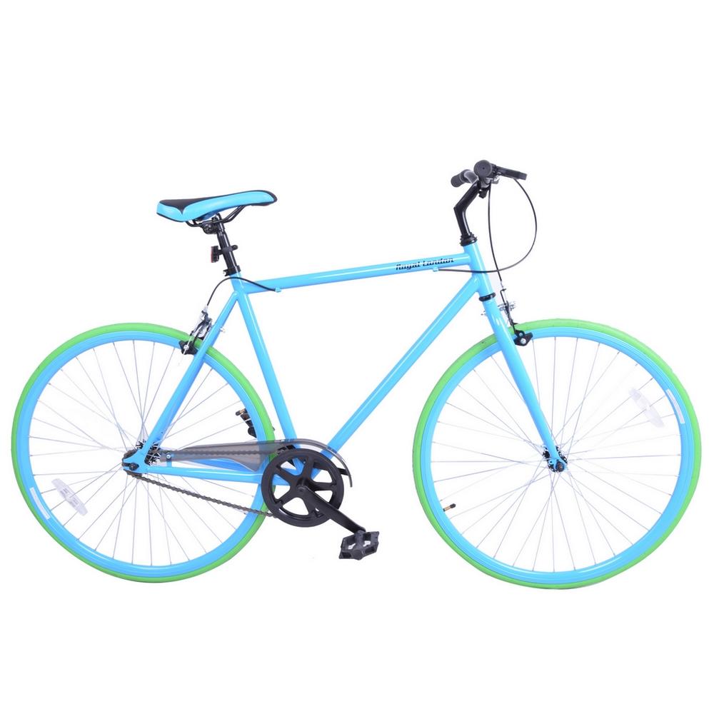 Royal London Fixie Fixed Gear Single Speed Bike - Blue ...