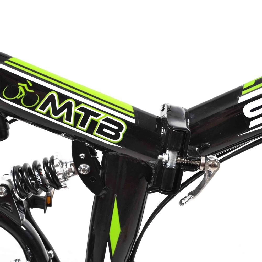 Stowabike-26-034-MTB-V2-Folding-Dual-Suspension-18-Speed-Shimano-Gear-Mountain-Bike thumbnail 4