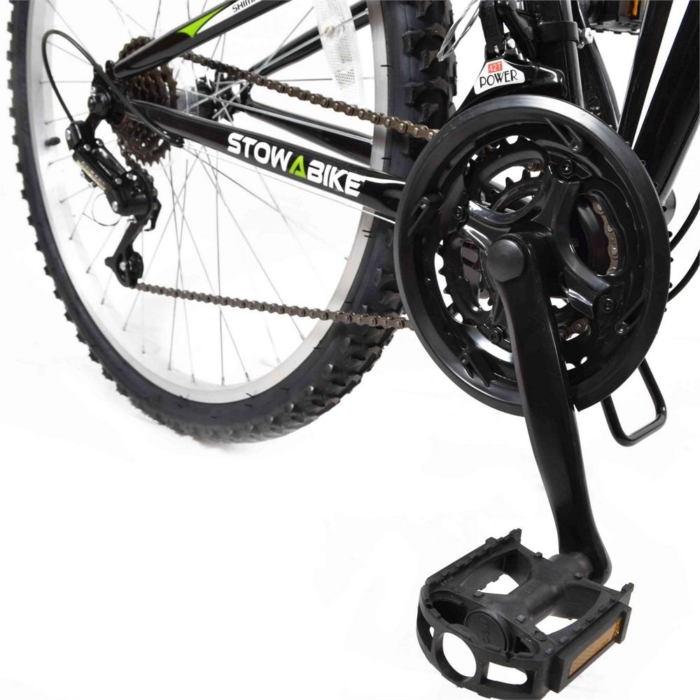 Stowabike-26-034-MTB-V2-Folding-Dual-Suspension-18-Speed-Shimano-Gear-Mountain-Bike thumbnail 5