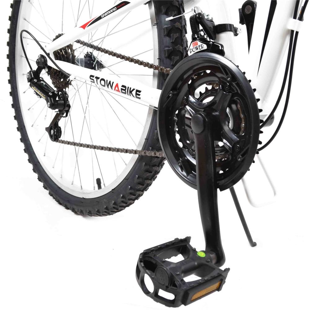 Stowabike-26-034-MTB-V2-Folding-Dual-Suspension-18-Speed-Shimano-Gear-Mountain-Bike thumbnail 10