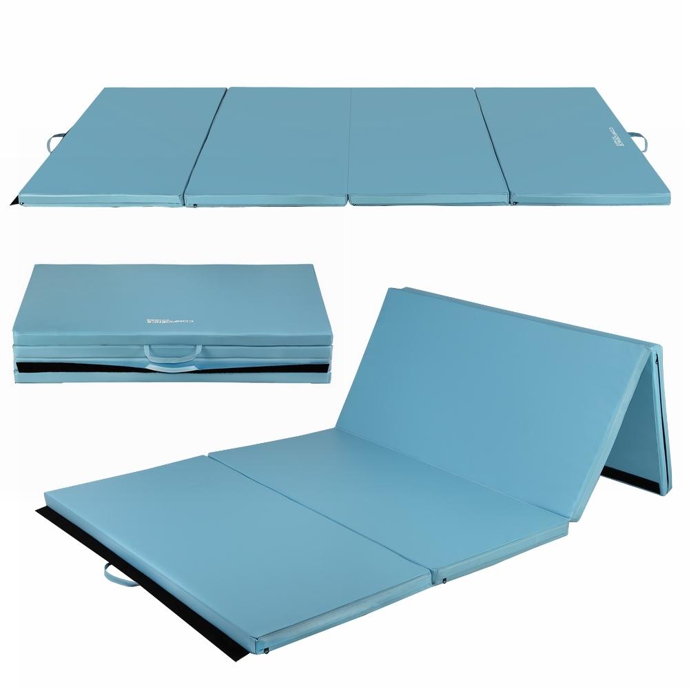 choice mat products best folding aerobics gym exercise acbb mats stretching gymnastics blue yoga