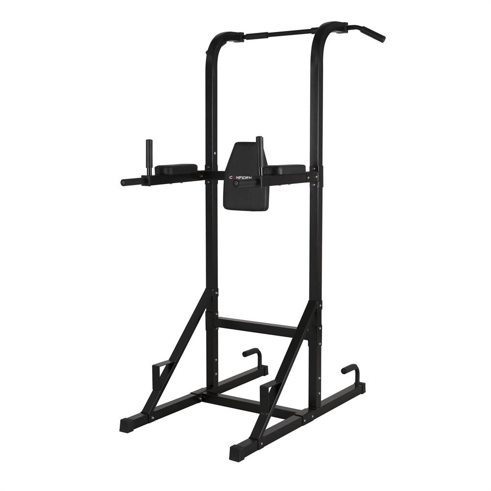Details about Confidence Olympic Power Tower V2 Knee Raise Dip Pull Chin up  Abs Multi station 1e774509e025