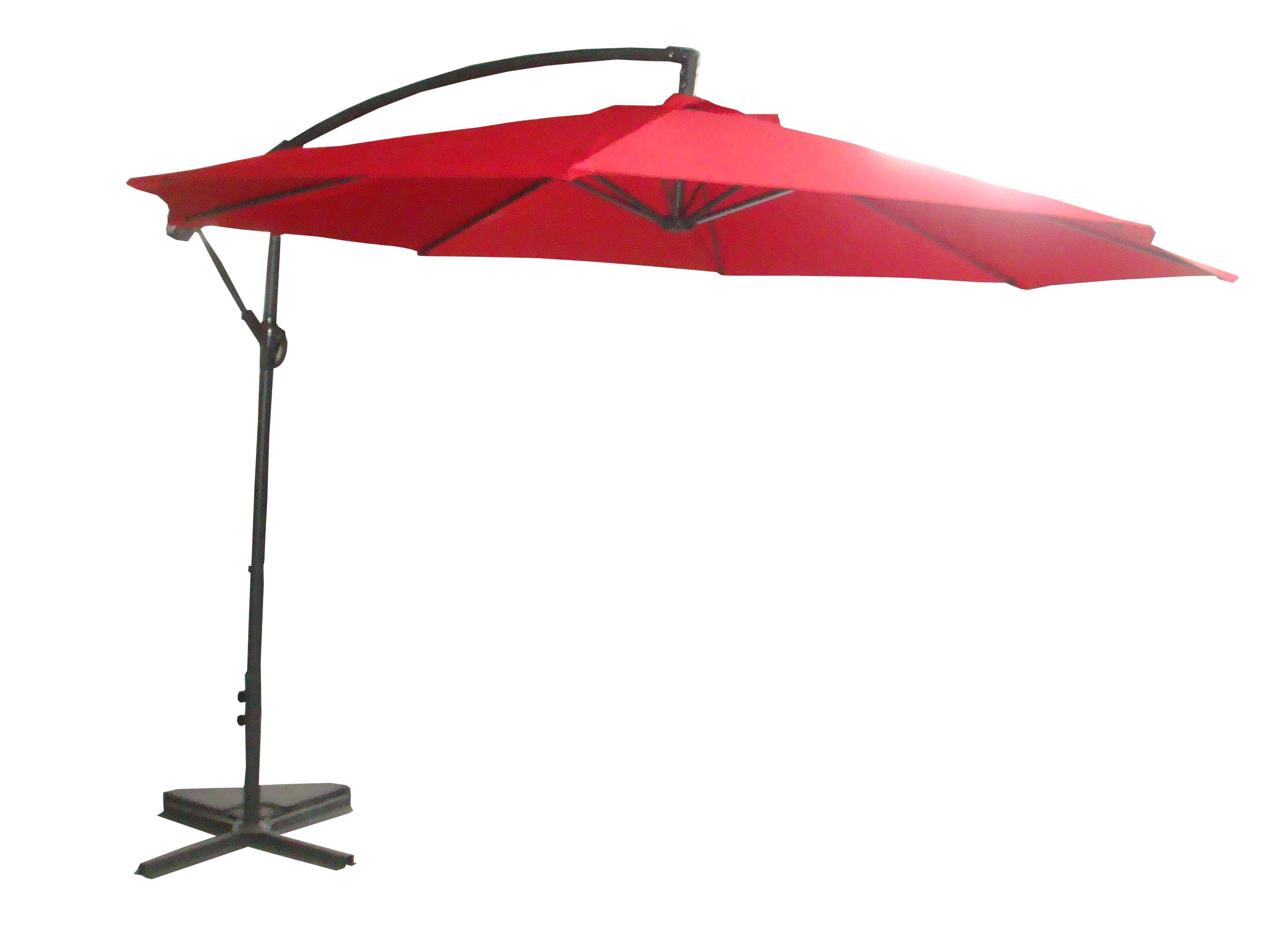 Palm-Springs-10ft-Offset-Garden-Umbrella-Outdoor-Patio-Hanging-Canopy thumbnail 9