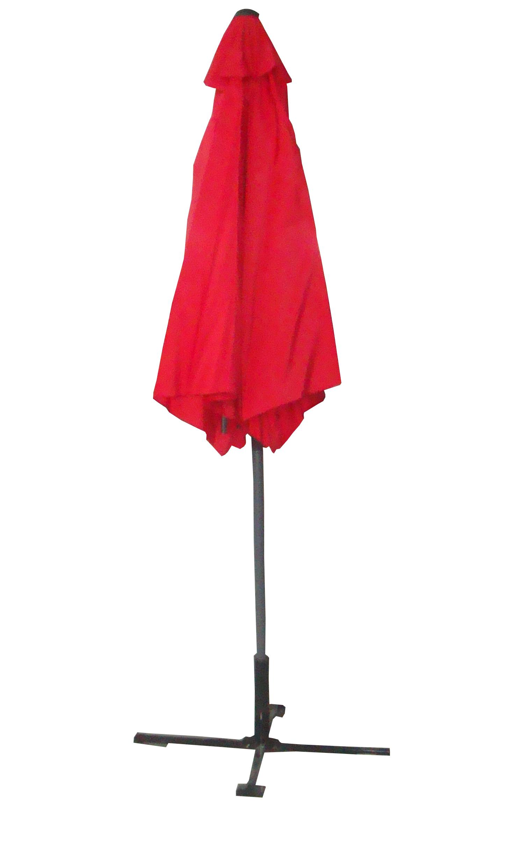 Palm-Springs-10ft-Offset-Garden-Umbrella-Outdoor-Patio-Hanging-Canopy thumbnail 10