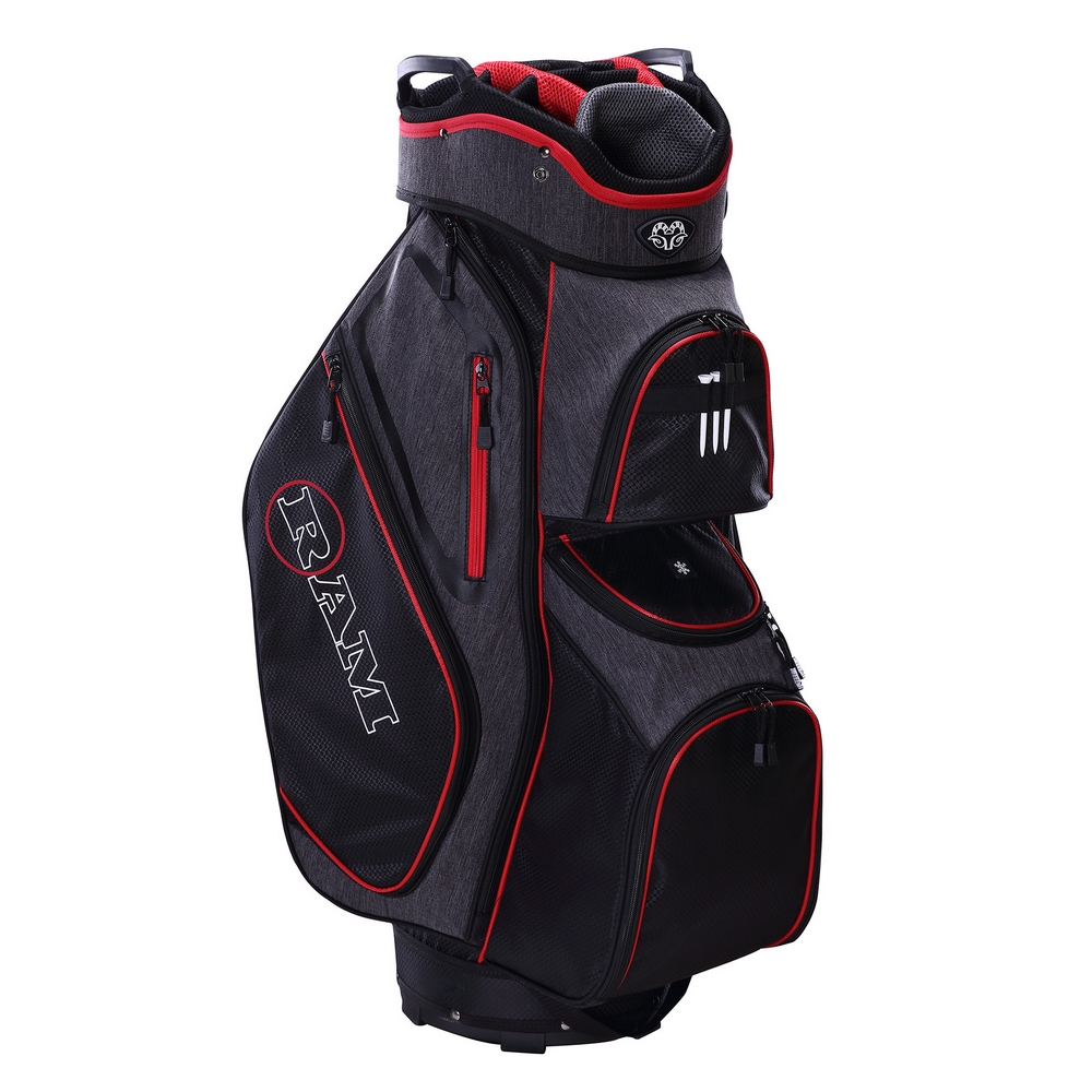 thumbnail 3 - Ram Golf Tour Trolley Bag with 14 Way Dividers Top