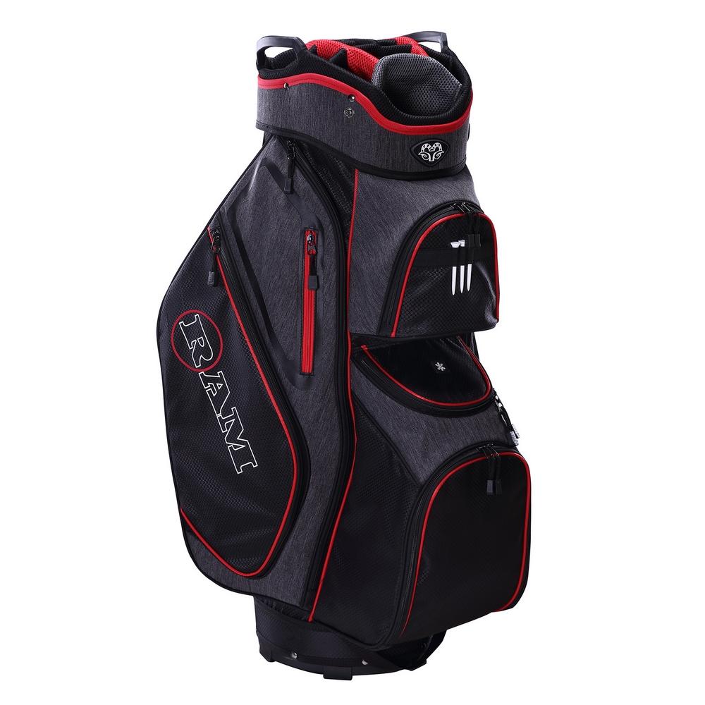 Ram-Golf-Tour-Cart-Bag-with-14-Full-Length-Dividers thumbnail 10