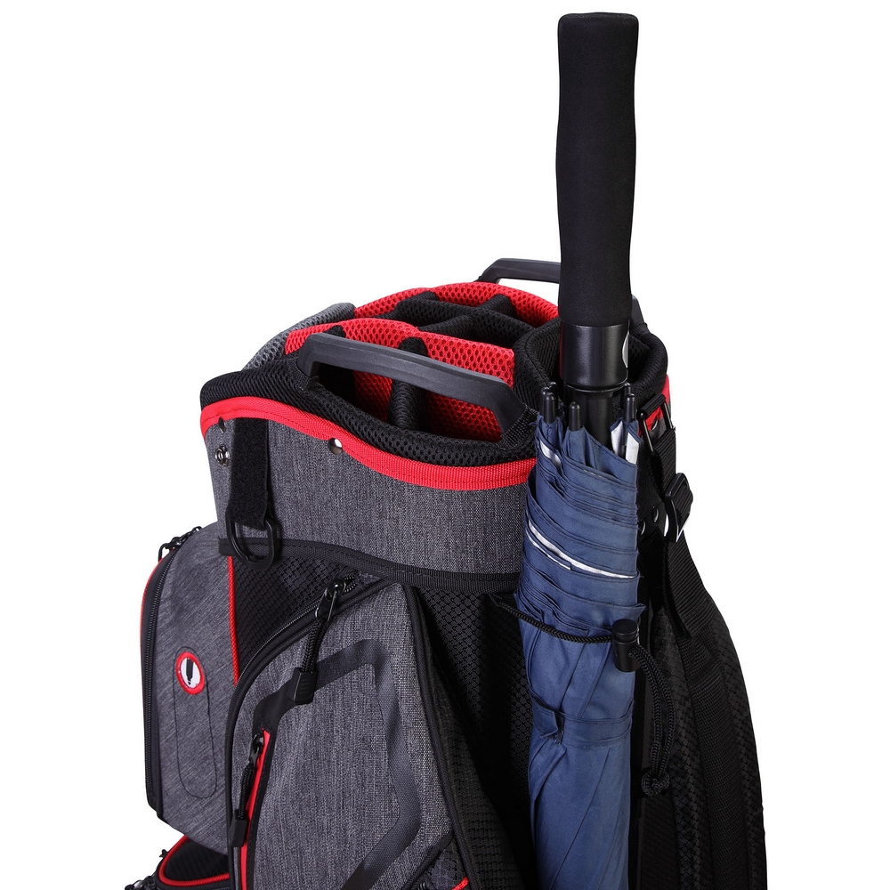 thumbnail 5 - Ram Golf Tour Trolley Bag with 14 Way Dividers Top