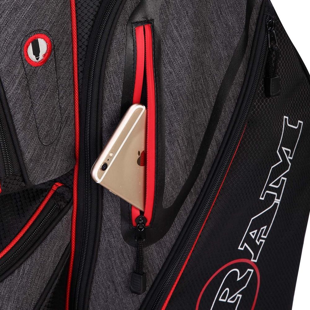 Ram-Golf-Tour-Cart-Bag-with-14-Full-Length-Dividers thumbnail 13