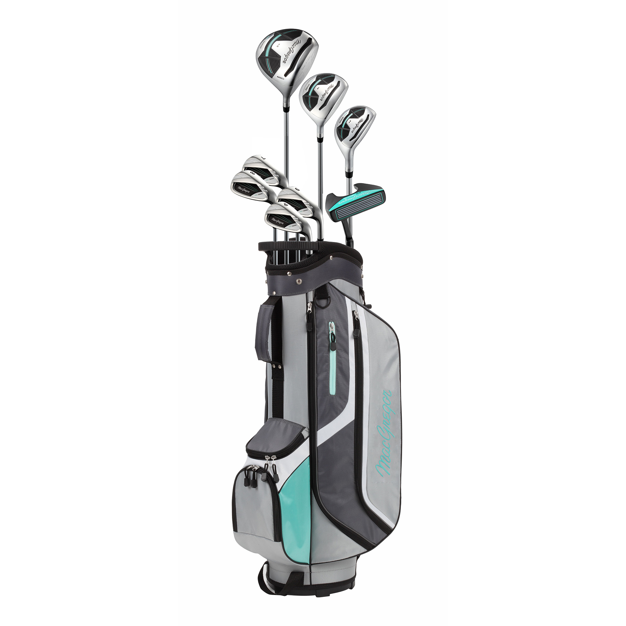 MacGregor Golf CG3000 Golf Clubs Set with Bag, Ladies Right