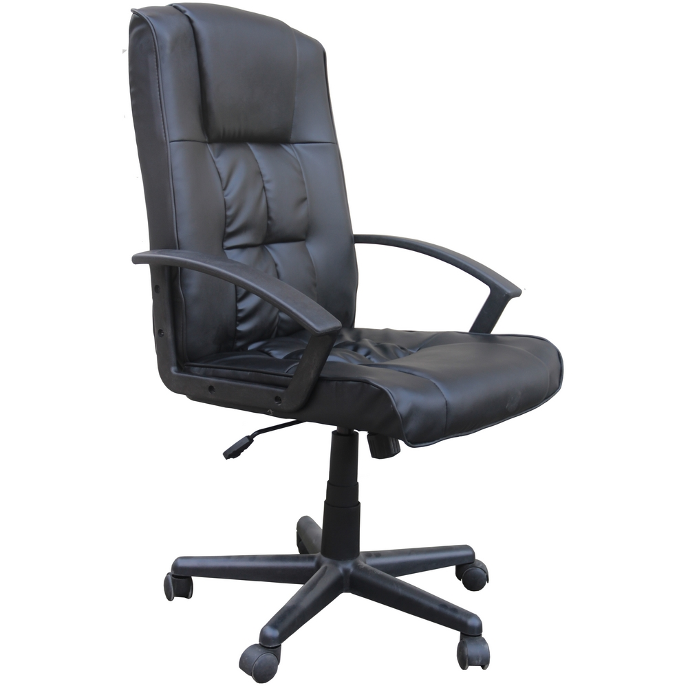 Homegear Deluxe Wheeled Computer Desk Chair / Home Office