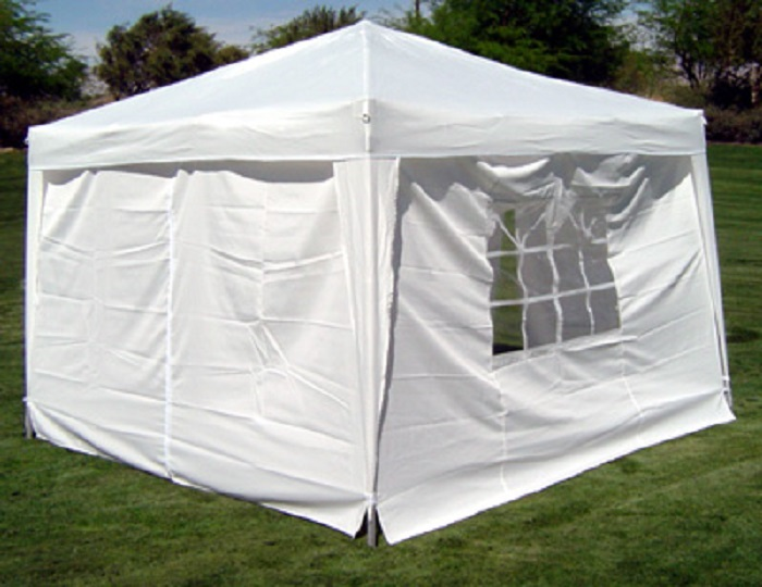 10-x-10-PALM-SPRINGS-EZ-POP-UP-CANOPY-GAZEBO-TENT-WITH-4-SIDE-WALLS-NEW thumbnail 10