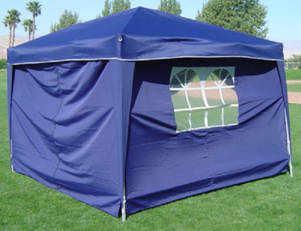 10-x-10-PALM-SPRINGS-EZ-POP-UP-CANOPY-GAZEBO-TENT-WITH-4-SIDE-WALLS-NEW thumbnail 3