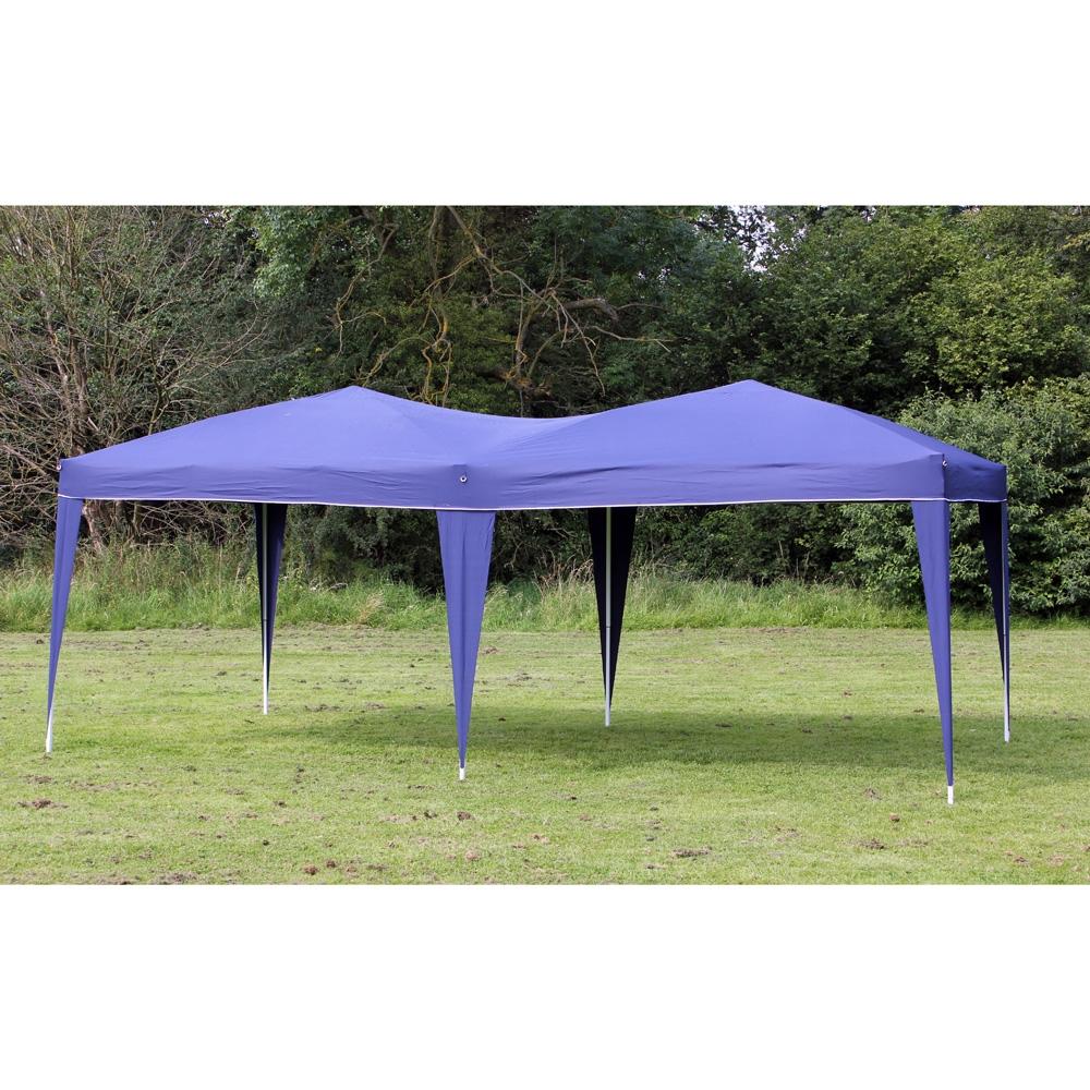 New 10 X 20 Palm Springs Pop Up Ez Set Up Canopy Gazebo