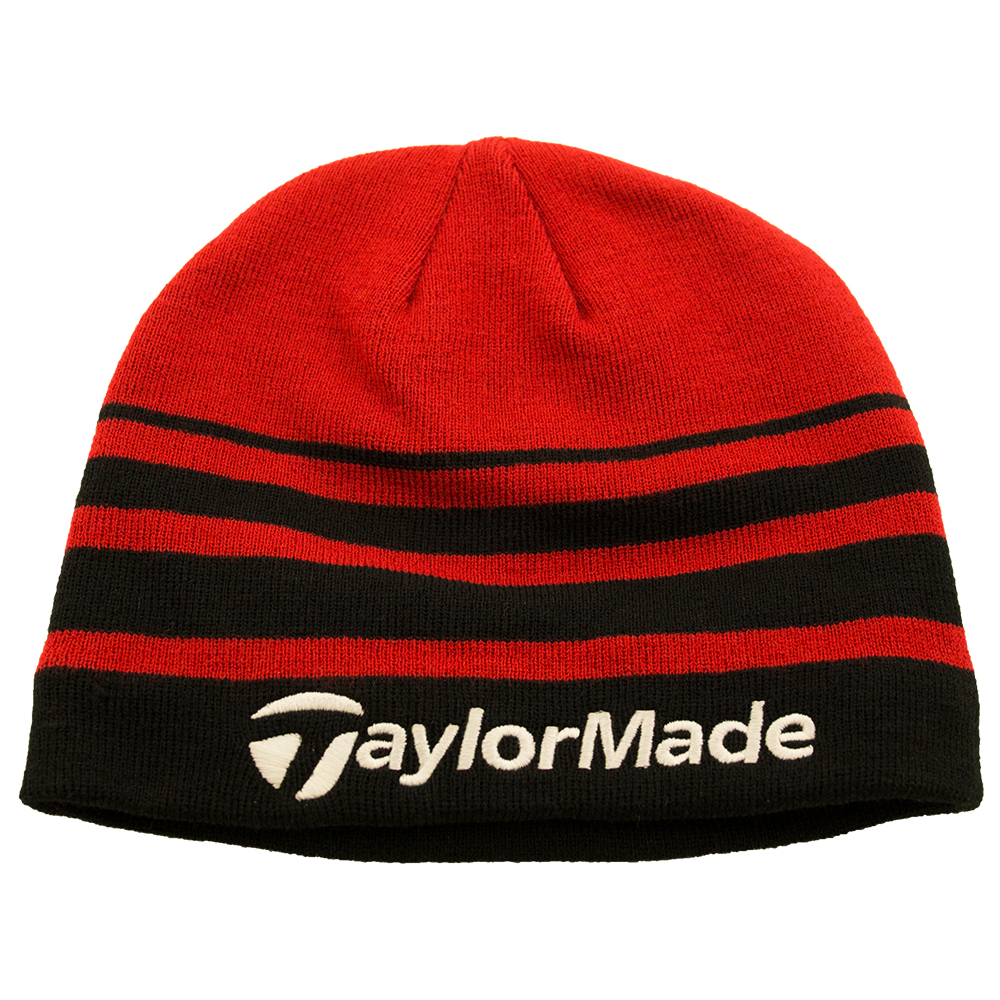 TaylorMade R11 Beanie Hat Black red. About this product. Picture 1 of 3   Picture 2 of 3  Picture 3 of 3 c12526ec040d