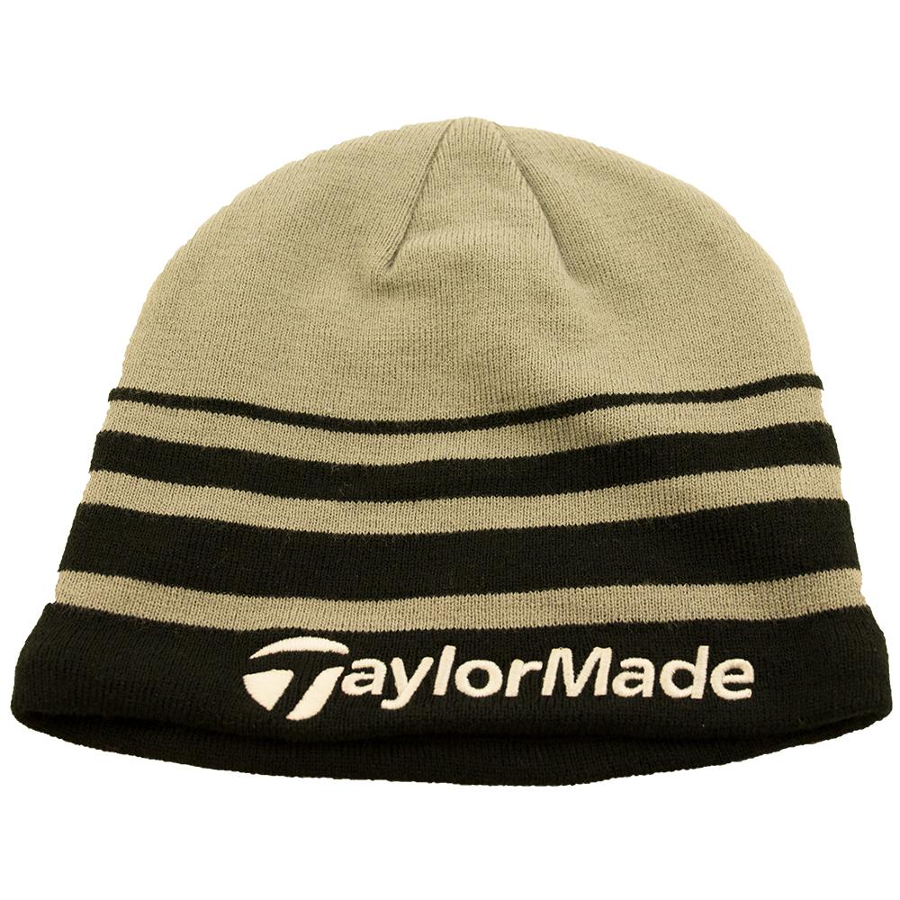 TaylorMade R11 Beanie Hat Black grey  4c55996b7284
